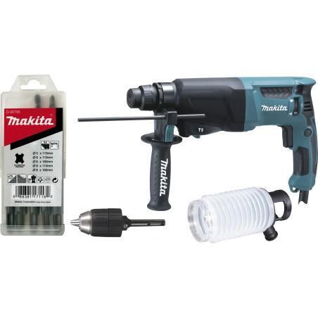 Perforateur MAKITA HR2600X9 SDS-Plus 800W 26mm