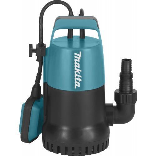 Pompe vide-cave à eau claire MAKITA PF0300 300W