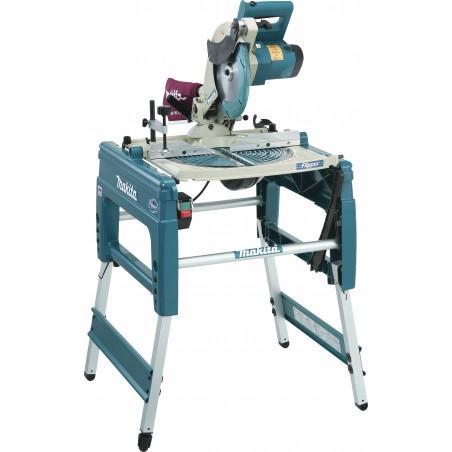 Scie sur table MAKITA LF1000 et à coupe d'onglet réversible 1650W Ø 260mm