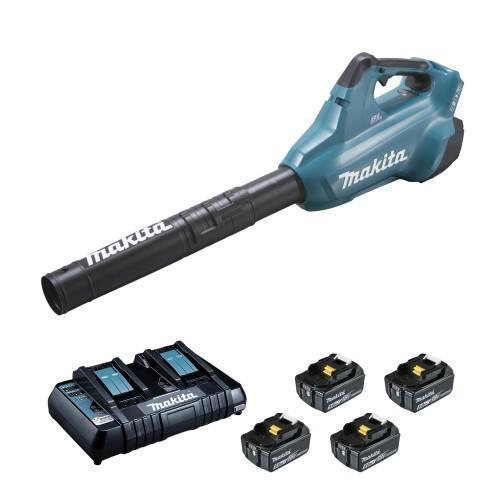 Souffleur sans fil MAKITA DUB362PT4 36V en 2 x 18V Li-Ion 5Ah + 4 batteries
