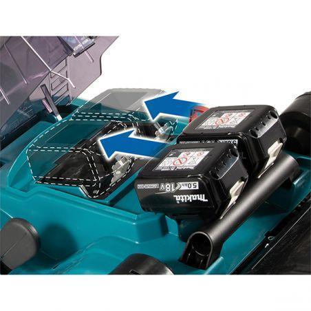 Tondeuse sans fil MAKITA DLM432CT2 36V en 2 x 18V Li-Ion 5Ah
