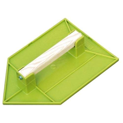 Taloche en ABS vert pointue