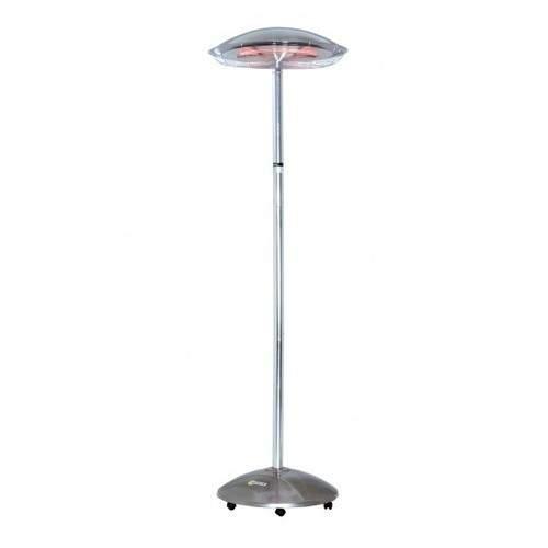 Parasol chauffant mobile électrique