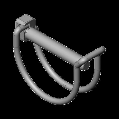 Goupille clips pour échafaudage roulant