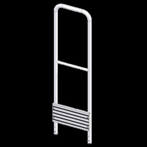 Garde-corps aluminium latéral pour...