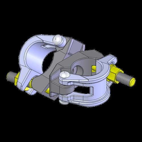 collier d'échafaudage à angle variable raccord à boulons articulé