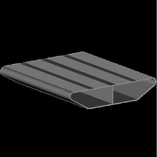 marche aluminium 6m largeur 261mm