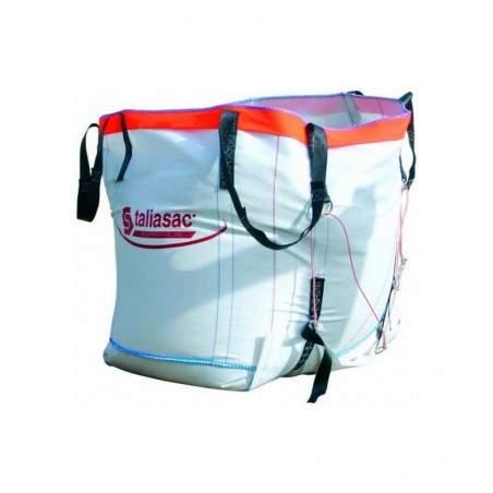 sac à gravats big bag réutilisable 1500 kg