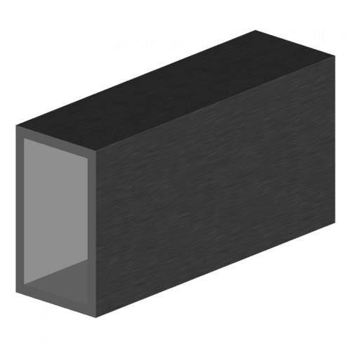 profilé aluminium rectangulaire 50x30 mm