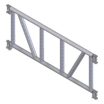 portique acier pour passage pieton