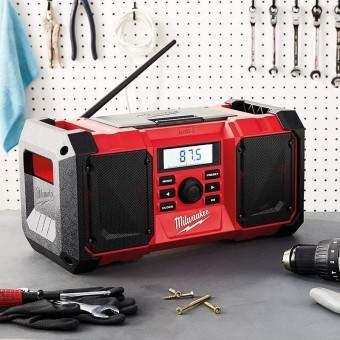 radio de chantier milwaukee