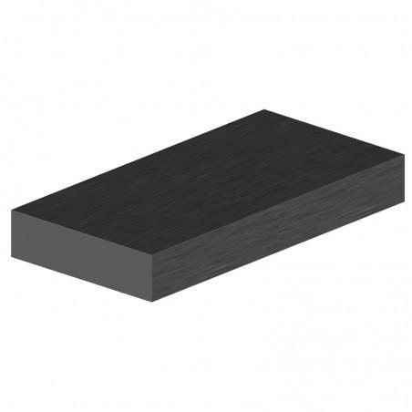 profilé plat aluminium 30x8 mm longueur 6m