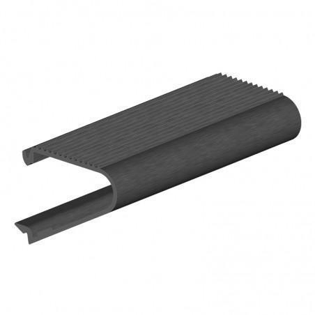 nez de marche aluminium à clipser longueur 6m