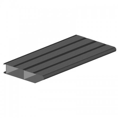 marche aluminium à clipser longueur 6m 261 mm
