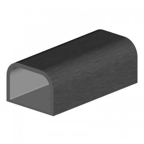 profil aluminium rive 35x25x2,5 mm longueur 5467 mm