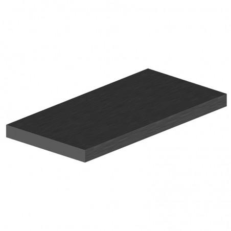 profilé plat aluminium 40x5 mm longueur 6m