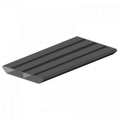 marche aluminium 230 mm longueur 6m
