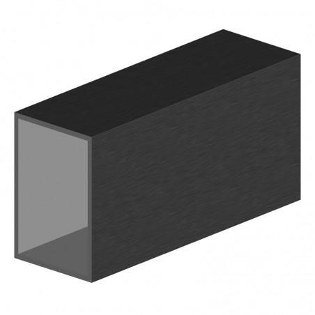 profilé aluminium 40x20x2 mm rectangulaire longueur 6m