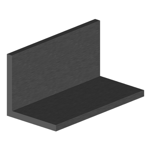 cornière aluminium 60x60x6 mm longueur 6m