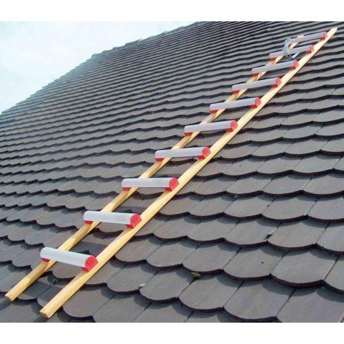 échelle de toit aluminium bois 3m 4m ou 5m