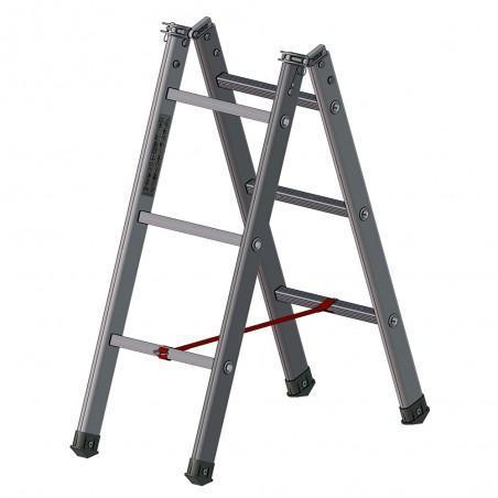 échelle pliante en aluminium 2 x 3 échelons