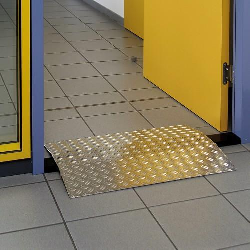 rampe passage de seuil en aluminium hauteur 35 mm