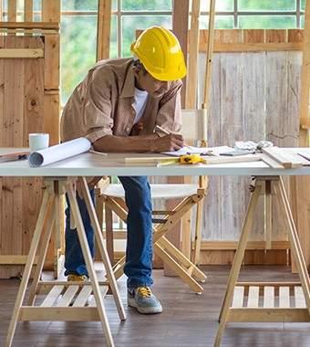 Aménagement d'espaces de travail