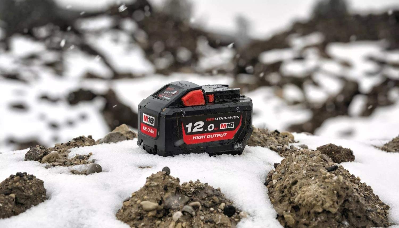 Batterie Milwaukee 18V 12 Ah à 199€ TTC !